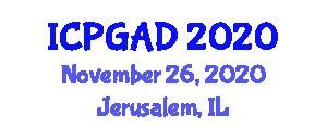 International Conference on Population Geography and Allied Disciplines (ICPGAD) November 26, 2020 - Jerusalem, Israel