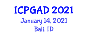 International Conference on Population Geography and Allied Disciplines (ICPGAD) January 14, 2021 - Bali, Indonesia