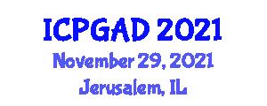 International Conference on Population Geography and Allied Disciplines (ICPGAD) November 29, 2021 - Jerusalem, Israel