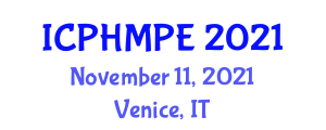 International Conference on Population Health Management and Patient Engagement (ICPHMPE) November 11, 2021 - Venice, Italy