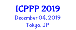International Conference on Positive Psychology and Psychotherapy (ICPPP) December 04, 2019 - Tokyo, Japan
