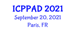 International Conference on Poultry Production and Animal Diseases (ICPPAD) September 20, 2021 - Paris, France