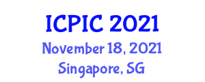 International Conference on Private Information and Cryptography (ICPIC) November 18, 2021 - Singapore, Singapore