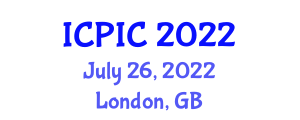 International Conference on Private Information and Cryptography (ICPIC) July 26, 2022 - London, United Kingdom