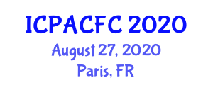 International Conference on Production and Applications of Carbon Fiber Composites (ICPACFC) August 27, 2020 - Paris, France