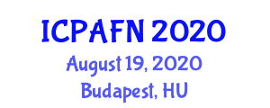 International Conference on Production and Applications of Functional Nanofibers (ICPAFN) August 19, 2020 - Budapest, Hungary