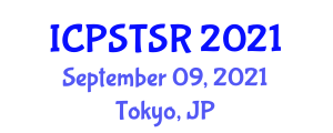 International Conference on Psychoanalytic Social Theory and Self-Realization (ICPSTSR) September 09, 2021 - Tokyo, Japan