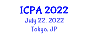 International Conference on Psychology of Addiction (ICPA) July 22, 2022 - Tokyo, Japan