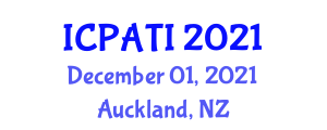International Conference on Public Administration, Technology and Innovation (ICPATI) December 01, 2021 - Auckland, New Zealand