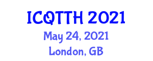 International Conference on Quantum Cryptography in Theory (ICQTTH) May 24, 2021 - London, United Kingdom