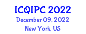 International Conference on Quantum Information Processing and Cryptology (ICQIPC) December 09, 2022 - New York, United States