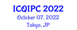 International Conference on Quantum Information Processing and Cryptology (ICQIPC) October 07, 2022 - Tokyo, Japan