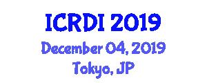 International Conference on Radiation Detection and Imaging (ICRDI) December 04, 2019 - Tokyo, Japan