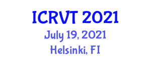 International Conference on Radiography in Veterinary Technology (ICRVT) July 19, 2021 - Helsinki, Finland