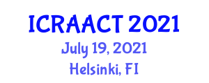 International Conference on Recent Advances in Animal Cell Technologies (ICRAACT) July 19, 2021 - Helsinki, Finland