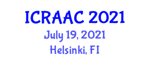 International Conference on Recent Advances in Animal Cloning (ICRAAC) July 19, 2021 - Helsinki, Finland