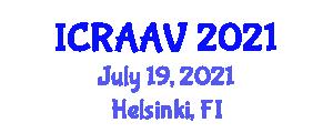 International Conference on Recent Advances in Animal Virology (ICRAAV) July 19, 2021 - Helsinki, Finland