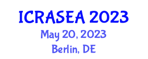 International Conference on Recent Advances in Slope Engineering and Applications (ICRASEA) May 20, 2023 - Berlin, Germany