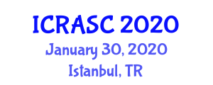 International Conference on Recent Advances in Solution Chemistry (ICRASC) January 30, 2020 - Istanbul, Turkey