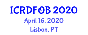 International Conference on Recent Developments in Fiber-Optic Biosensors (ICRDFOB) April 16, 2020 - Lisbon, Portugal