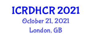 International Conference on Recent Developments in Human-Centered Robotics (ICRDHCR) October 21, 2021 - London, United Kingdom