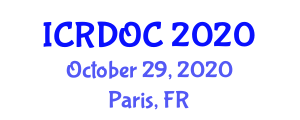 International Conference on Recent Developments in Organoboron Chemistry (ICRDOC) October 29, 2020 - Paris, France