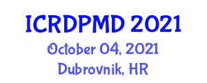 International Conference on Recent Developments in Photovoltaic Materials and Devices (ICRDPMD) October 04, 2021 - Dubrovnik, Croatia