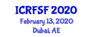 International Conference on Recycled Fabric and Sustainable Fibers (ICRFSF) February 13, 2020 - Dubai, United Arab Emirates