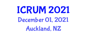 International Conference on Regional Urbanization and Metropolization (ICRUM) December 01, 2021 - Auckland, New Zealand