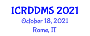 International Conference on Relational Database Design and Management Systems (ICRDDMS) October 18, 2021 - Rome, Italy