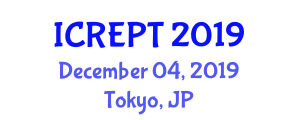 International Conference on Remanufacturing and Electronic Packaging Technologies (ICREPT) December 04, 2019 - Tokyo, Japan