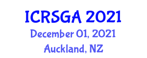 International Conference on Remote Sensing, Geodesy and Applications (ICRSGA) December 01, 2021 - Auckland, New Zealand