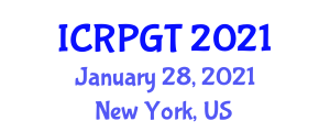 International Conference on Renewable Power-to-Gas Technologies (ICRPGT) January 28, 2021 - New York, United States