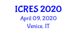International Conference on Reproductive Endocrinology and Subfertility (ICRES) April 09, 2020 - Venice, Italy