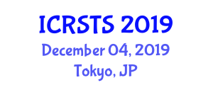 International Conference on Road Safety and Transport Statistics (ICRSTS) December 04, 2019 - Tokyo, Japan