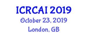 International Conference on Robotic Computing and Artificial Intelligence (ICRCAI) October 23, 2019 - London, United Kingdom