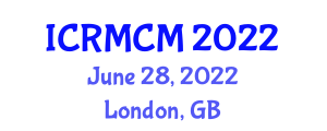 International Conference on Robotic Manipulation and Coordinated Manipulation (ICRMCM) June 28, 2022 - London, United Kingdom