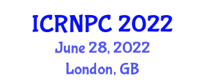 International Conference on Robotic Nurses and Patient Care (ICRNPC) June 28, 2022 - London, United Kingdom