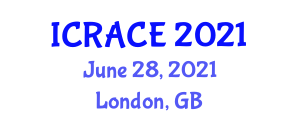 International Conference on Robotics and Automation in Civil Engineering (ICRACE) June 28, 2021 - London, United Kingdom