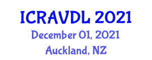 International Conference on Robots, Autonomous Vehicles and Deep Learning (ICRAVDL) December 01, 2021 - Auckland, New Zealand