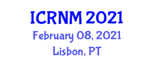 International Conference on Rural Nursing and Midwifery (ICRNM) February 08, 2021 - Lisbon, Portugal