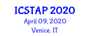 International Conference on Saint Thomas Aquinas and Philosophy (ICSTAP) April 09, 2020 - Venice, Italy