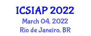 International Conference on Securing Information and Applied Cryptography (ICSIAP) March 04, 2022 - Rio de Janeiro, Brazil