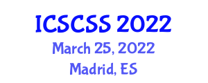International Conference on Security and Cryptology for Cyberphysical Systems (ICSCSS) March 25, 2022 - Madrid, Spain