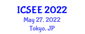 International Conference on Seismology and Earthquake Engineering (ICSEE) May 27, 2022 - Tokyo, Japan