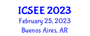 International Conference on Seismology and Earthquake Engineering (ICSEE) February 25, 2023 - Buenos Aires, Argentina
