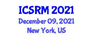 International Conference on Seismology and Rock Mechanics (ICSRM) December 09, 2021 - New York, United States