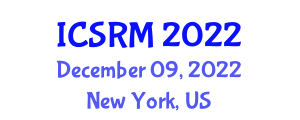 International Conference on Seismology and Rock Mechanics (ICSRM) December 09, 2022 - New York, United States
