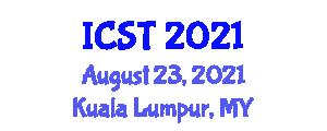International Conference on Semantic Technologies (ICST) August 23, 2021 - Kuala Lumpur, Malaysia