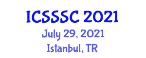 International Conference on Sexual Selection and Social Competition (ICSSSC) July 29, 2021 - Istanbul, Turkey